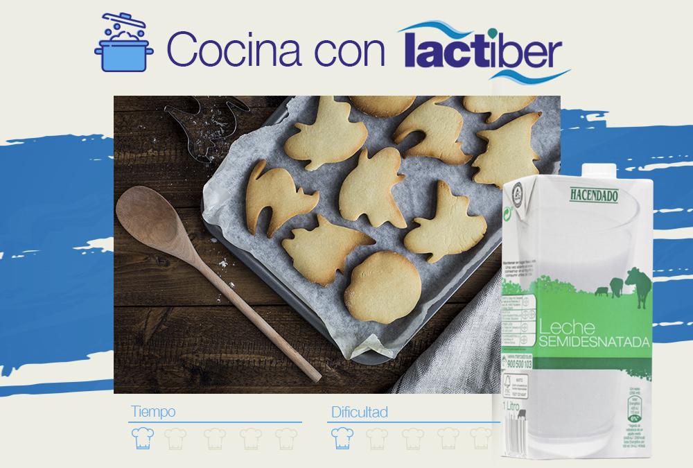 Cocina con Lactiber … galletas de Halloween
