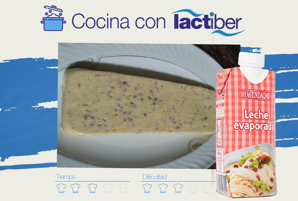 Cocina con Lactiber …. un paté de jamón serrano.