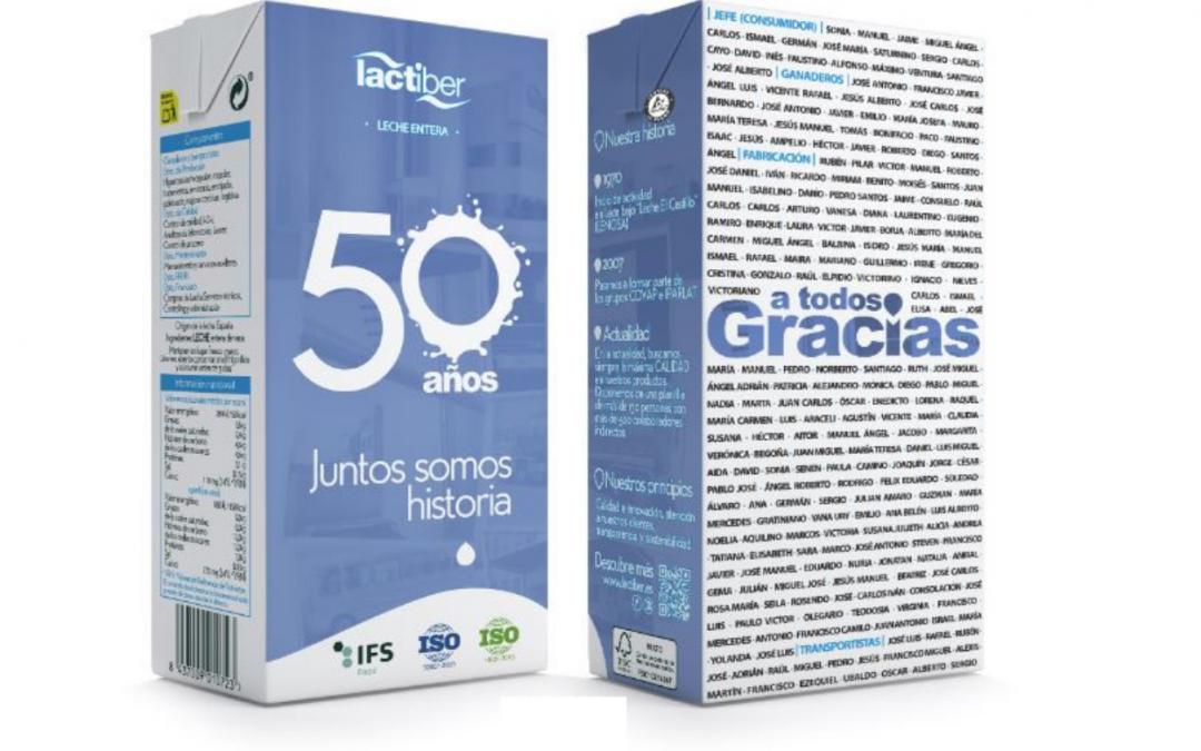 Brick 50º Aniversario Lactiber